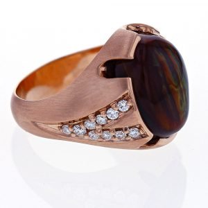 Gents Agate Ring